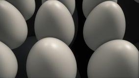 Abstracte eierenepisode 1 royalty-vrije illustratie
