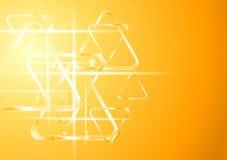 Abstracte elegante vectorachtergrond Royalty-vrije Stock Afbeelding