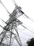 Abstracte elektriciteitspyloon Royalty-vrije Stock Afbeelding