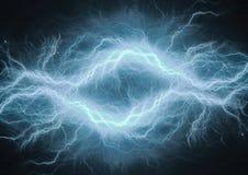 Abstracte elektroachtergrond Royalty-vrije Stock Afbeelding