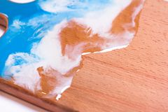 abstracte epoxy Kunsttekeningen voor ontwerpers stock afbeelding