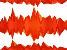 Abstracte Equaliserillustratie Als achtergrond vector illustratie