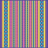 Abstracte etnische gekleurde achtergrond Royalty-vrije Stock Afbeelding