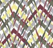 Abstracte etnische patroon ongelijke etnische vormen als achtergrond, stock afbeelding