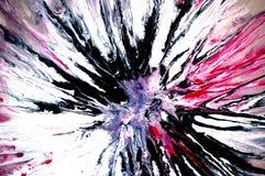 Abstracte Explosie Stock Afbeeldingen