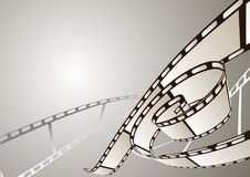 Abstracte fotografische film Royalty-vrije Stock Afbeeldingen