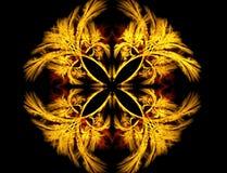 Abstracte fractal Stock Afbeeldingen