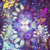 Abstracte fractal stock foto