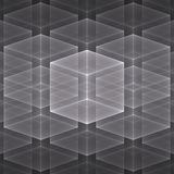 Abstracte Fractal Achtergrond Stock Afbeelding
