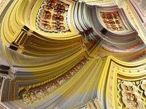 Abstracte Fractal Achtergrond Royalty-vrije Stock Foto's