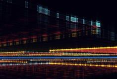Abstracte fractal achtergrond, 3D-illustratie Royalty-vrije Stock Fotografie