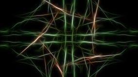 Abstracte Fractal Achtergrond Fractal de reeks van de zijdesymmetrie royalty-vrije illustratie