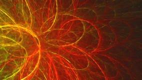 Abstracte fractal achtergrond met computer geproduceerd verfeffect stock illustratie