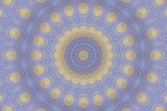 Abstracte fractal achtergrond (Perzische stijl) Royalty-vrije Stock Fotografie