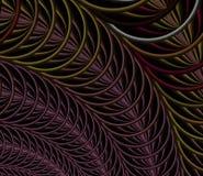 Abstracte fractal achtergrond, textuur Stock Afbeelding