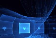 Abstracte fractal achtergrond, textuur, Stock Foto's