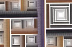 Abstracte fractal achtergrond, textuur, Royalty-vrije Stock Afbeelding