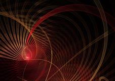 Abstracte fractal achtergrond, textuur, 2D illustratie Stock Afbeelding