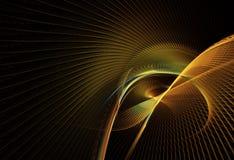 Abstracte fractal achtergrond, textuur, 2D illustratie Royalty-vrije Stock Foto