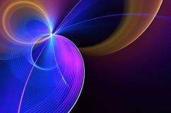 Abstracte fractal achtergrond, textuur, illustratie Stock Fotografie