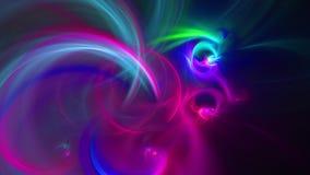 Abstracte fractal achtergrond voor creatief ontwerp stock illustratie