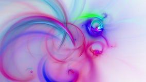 Abstracte fractal achtergrond voor creatief ontwerp royalty-vrije illustratie