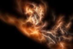 Abstracte fractal als achtergrond royalty-vrije stock afbeeldingen