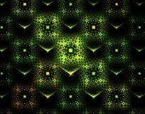Abstracte fractal beeldtextuur Stock Foto