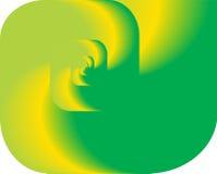 Abstracte fractal draai als embleem, achtergrond Royalty-vrije Stock Fotografie