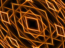 Abstracte fractal geproduceerde computer Stock Afbeelding