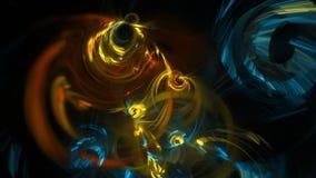 Abstracte fractal lengte voor creatief ontwerp royalty-vrije illustratie