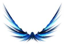 Abstracte Fractal Vleugels stock illustratie
