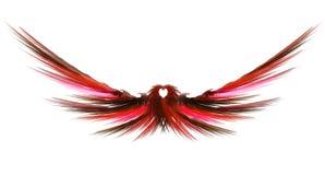 Abstracte Fractal Vleugels royalty-vrije illustratie