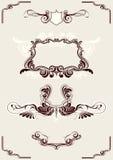 Abstracte frame elementen Royalty-vrije Stock Fotografie