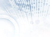 Abstracte futuristisch verdwijnt computertechnologie bedrijfsachtergrond langzaam vector illustratie