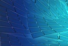Abstracte futuristische achtergronden voor toekomstig en gebruikt voor website stock illustratie