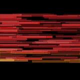 Abstracte futuristische background.illustration Stock Afbeelding
