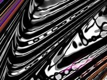Abstracte futuristische fractal donkere achtergrond vector illustratie
