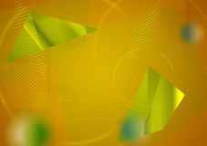 Abstracte futuristische hi-tech achtergrond Royalty-vrije Stock Foto's