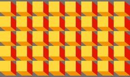 Abstracte futuristische kleurenachtergrond Stock Afbeelding