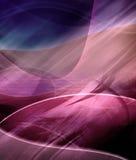 Abstracte futuristische purpere achtergrond Royalty-vrije Stock Afbeelding