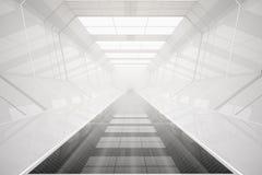 Abstracte futuristische tunnel Royalty-vrije Stock Foto