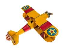 Abstracte geïsoleerd vliegtuig Met de hand gemaakt Royalty-vrije Stock Foto's
