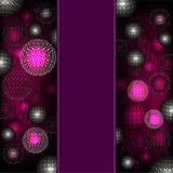 Abstracte gebied violette achtergrond Stock Afbeeldingen