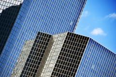 Abstracte gebouwen Royalty-vrije Stock Afbeelding