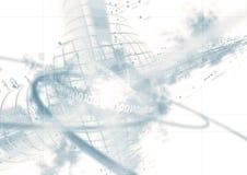 Abstracte gegevensachtergrond royalty-vrije illustratie