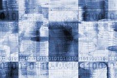 Abstracte geldachtergrond stock illustratie