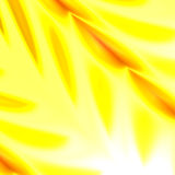 Abstracte Gele Aardachtergrond Voor de Affiche of de Dekkingsontwerp van de Bannervlieger Verlichte Heldere Lichteffectillustrati Royalty-vrije Stock Afbeelding