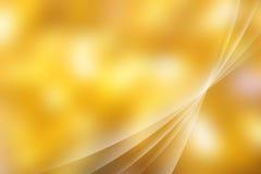Abstracte Gele achtergrond Stock Foto