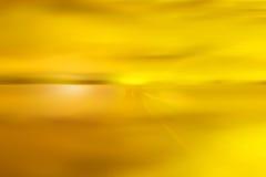 Abstracte gele hemel Royalty-vrije Stock Foto's